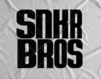 SNKR Bros - logo, visual identity and communication