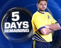 PSL Peshawar Zalmi Countdown