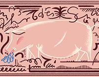 Year of the pig – Augustin Boulevardzeitung
