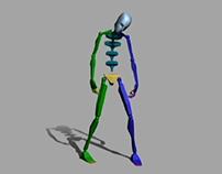 Zombie Biped - Walk/Idle Animations