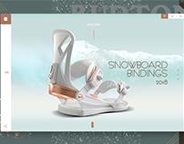 Design for store - burton.com.