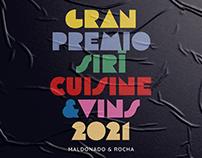 Gran premio Sirí Cusine & Vins / Identidad