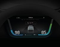 Kia Motors HMI UX Concept