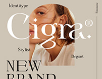 Cigra - Free Font