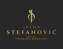 Logo for Irena Stefanovic financial consultant