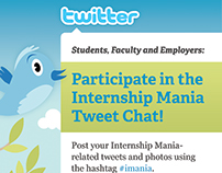 Tweet Chats, UW-Eau Claire, 2012