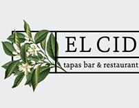 El Cid Restaurant Re-brand