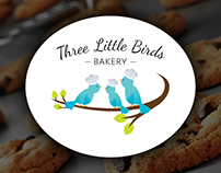 Three Little Birds Bakery - Logo Design