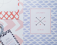 Adi & Gil wedding branding