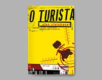 Book cover – The tourist