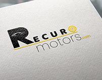 Recuro Motors Logo Design