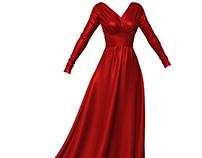 Dynamic Marvelous Designer Elegant Dress