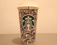 Starbucks Cup Doodling