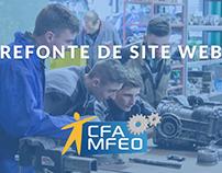 CFA Sorigny - Refonte de site web