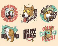 OH MY DOGS • Band Graphics