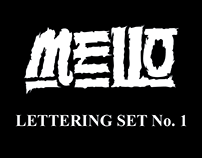 Lettering Set No.1