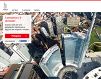 Unicredit Tower Promotional Site