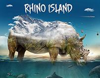 Rhino Island Illustrations