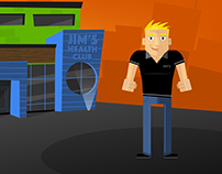 Jonas Fitness Animated Explainer