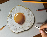 Drawing Fried Egg