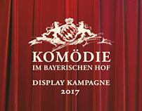 Komödie im Bayerischen Hof – Display Kampagne