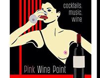 Pink wine point