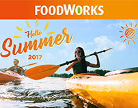 "FoodWorks ""Hello Summer"" Creative Proposal 2017"
