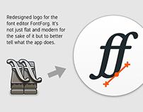 FontForge design update