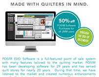 Retail Success - POSIM quilt market FabShop Ad