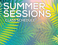 Summer Sessions Schedule 2016