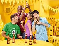 Cerveza Poker Espacios Amarillos 2011