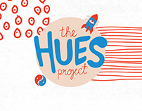 The Hues Project: Sticker Set