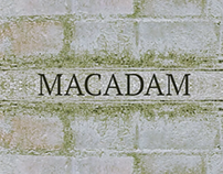 Macadam: Abstract Title Sequence