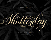 FREE |Shutterday Elegant Calligraphy Script
