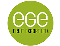 Logo and branding for a fruit export company