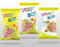 Packaging design for candies.