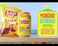 Lipton Ice Tea & Lay's Kampanyası
