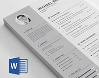 Word Resume