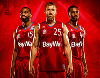 FC Bayern Basketball: Graphic new Jersey