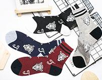 Socks For Tiger Man