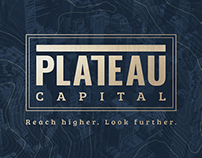 PLATEAU Capital - Naming + Branding + Visual Id.