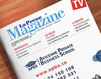 Article APBS {La Presse Magazine}
