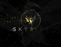 Skyride brand animation