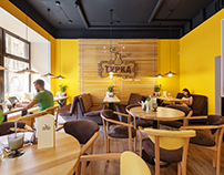 Turka: a cozy european style cafe