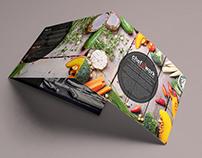 Chefatwork tri-fold brochure landscape