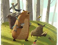 Illustrations for children book.