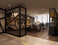 Rent a Car Office Interior Design