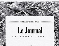 Le Journal 2 - E flyer