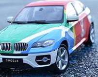 Google Car Wrap