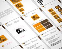 Zanin Brand identity